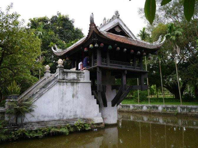 河內一柱寺