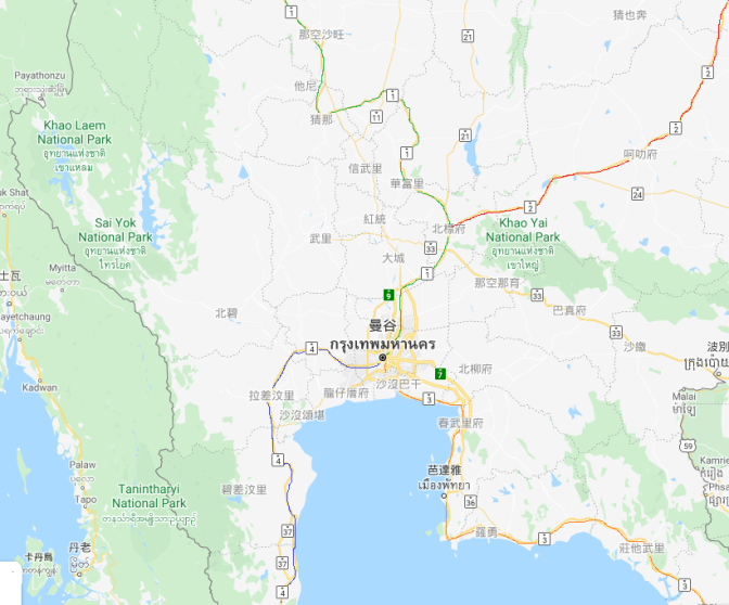 泰國公路網